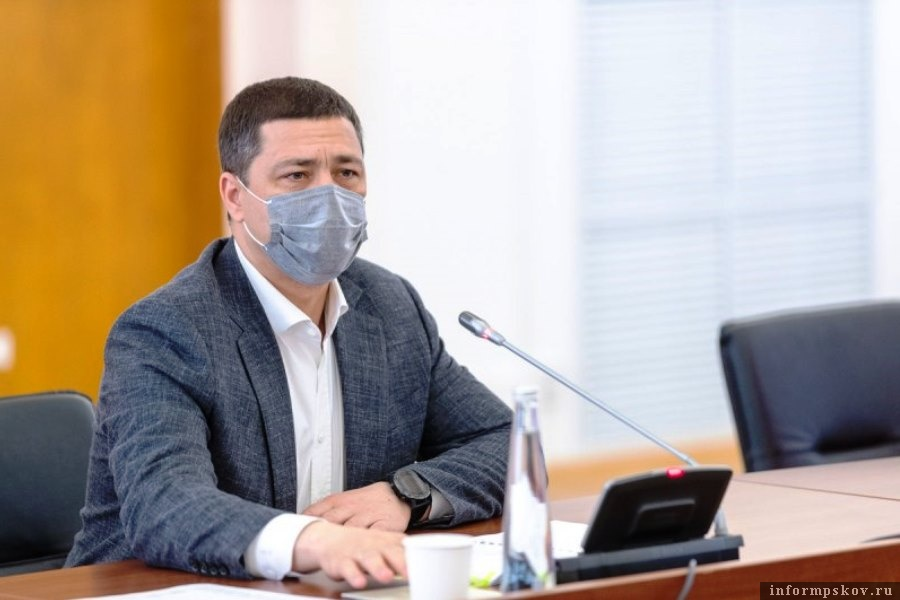 Губернатор поблагодарил силовиков за обеспечение порядка на майских праздниках. ото пресс-службы Псковской областной администрации