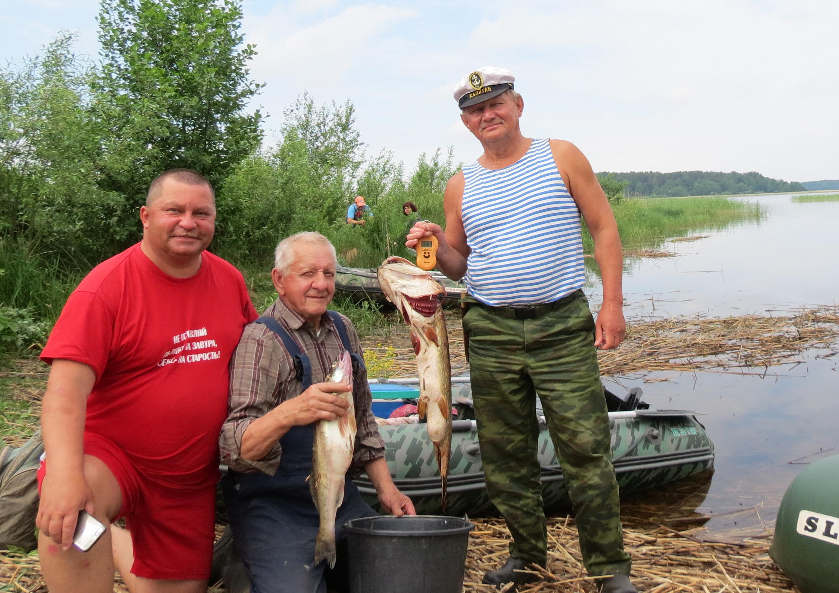 Рыбалка в Раскопельском заливе ровно год назад. Судаки и щуки скучать не давали. Фото автора.