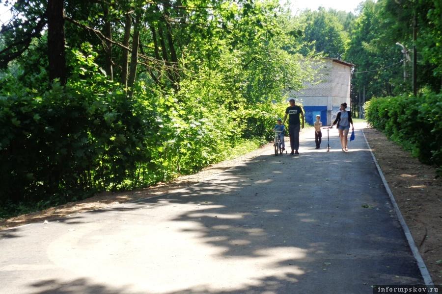 Жители Локнянского района проголосовали за «Поселковый парк». Фото газеты «Восход»