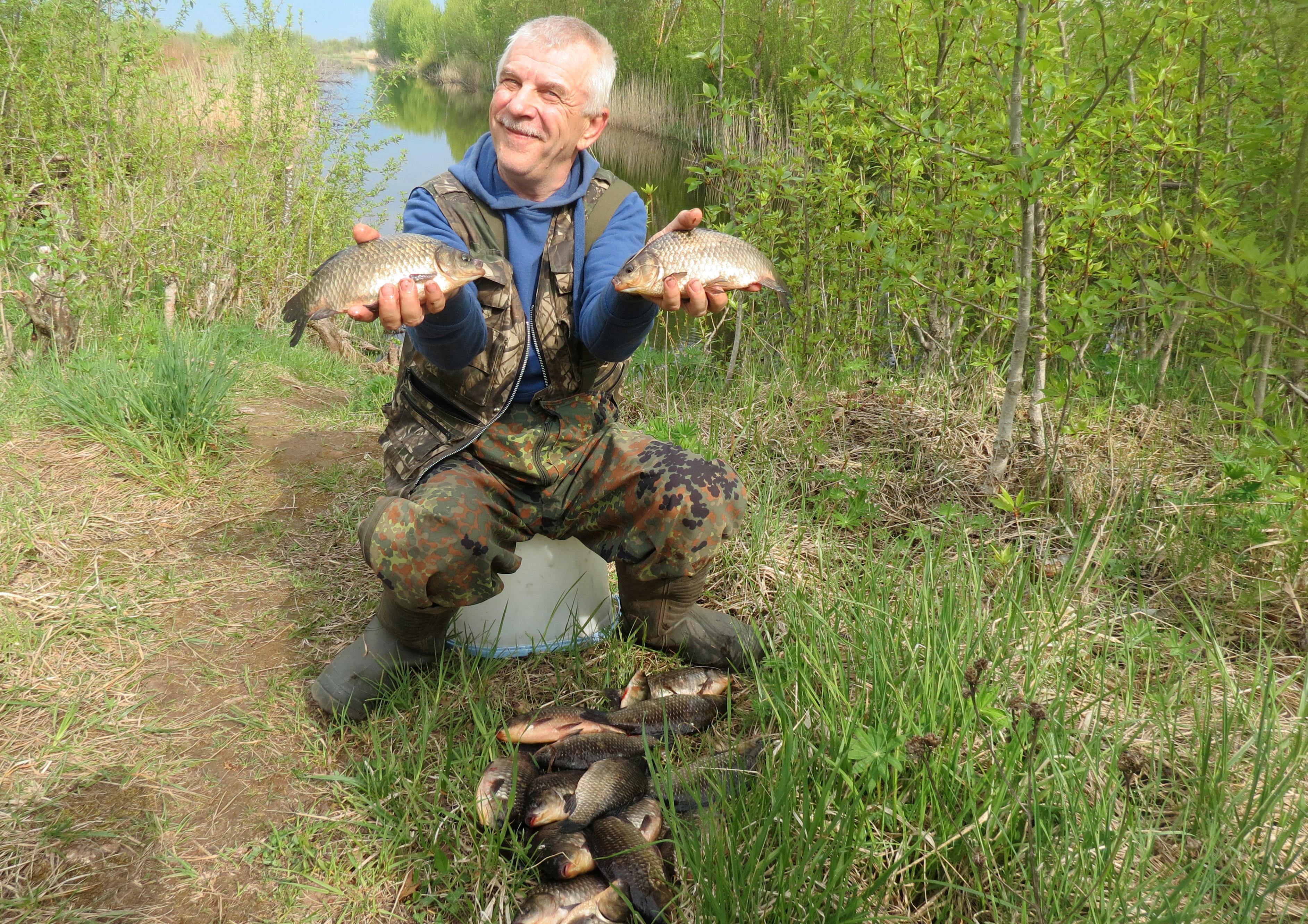Такой улов всегда приносит радость и положительные эмоции. Фото автора.