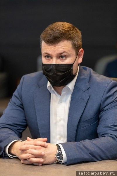 Андрей Ермаков. Фото пресс-службы администрации Псковской области