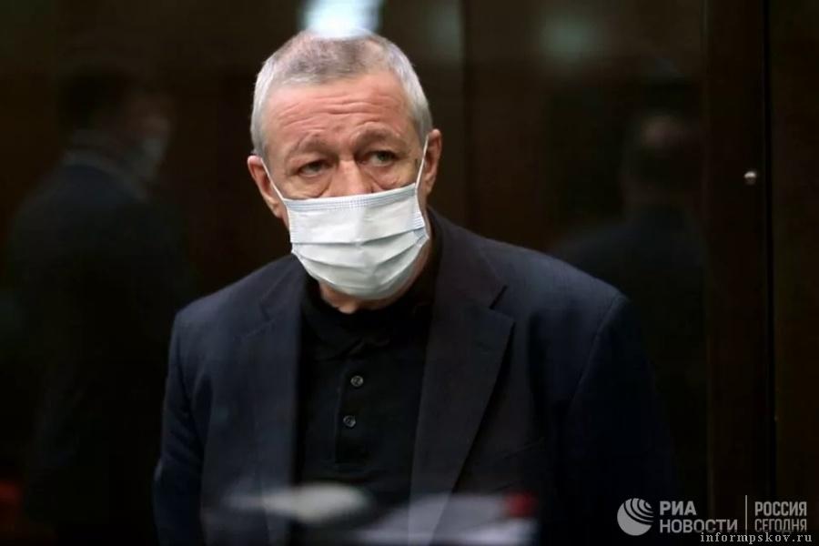 Михаил Ефремов просить снизить ему срок в тюрьме. Фото © РИА Новости / Пресс-служба Мосгорсуда