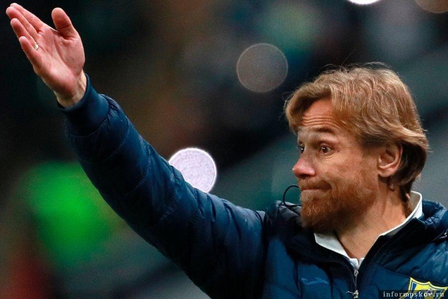 Валерий Карпин - новый тренер российской сборной по футболу. Фото РИА Новости