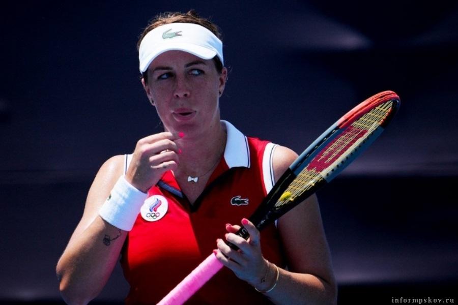 Анастасия Павлюченкова будет бороться за четвертьфинал. Фото championat.com