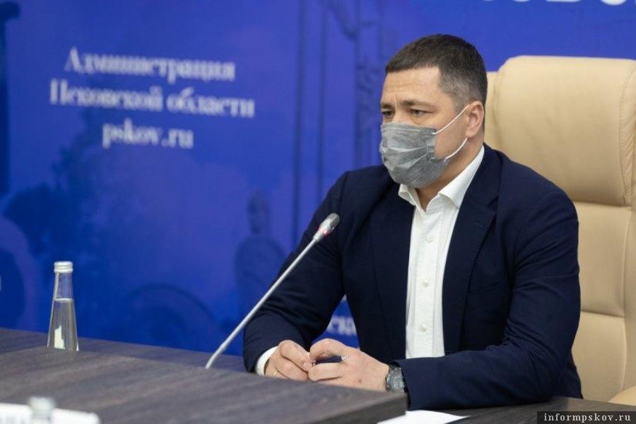 Губернатор в очередной раз проверил ход строительства социального городка в Борисовичах Фото администрация Псковской области