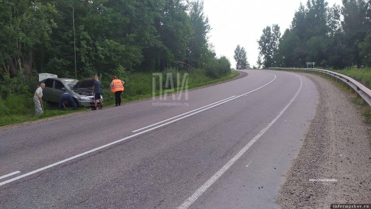 Фото с места происшествия: Газета «Наш путь»