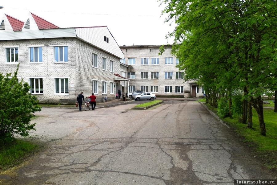 Гдовская больница. Фото газеты «Гдовская заря»