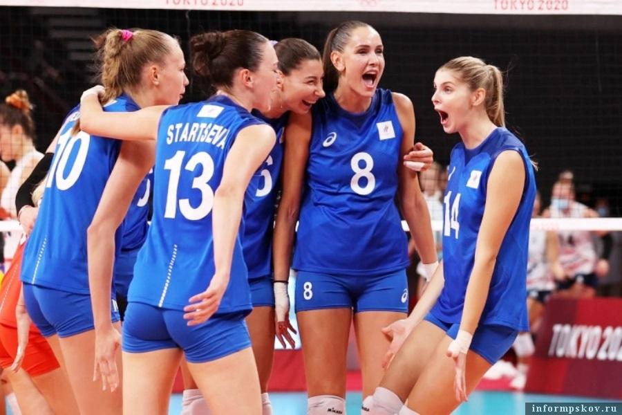 Женская сборная по волейболу была великолепна!. Фото championat.com