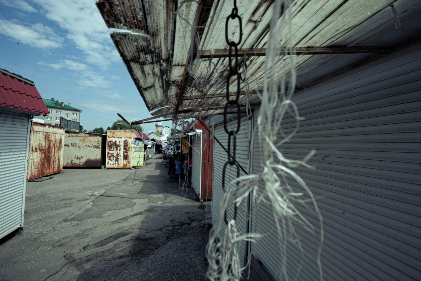 Так рынок выглядит сейчас. Фото Арсения Тимашова