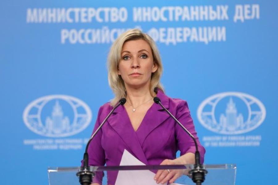 Мария Захарова предложила именовать Украину Укрусью. Фото МИД России