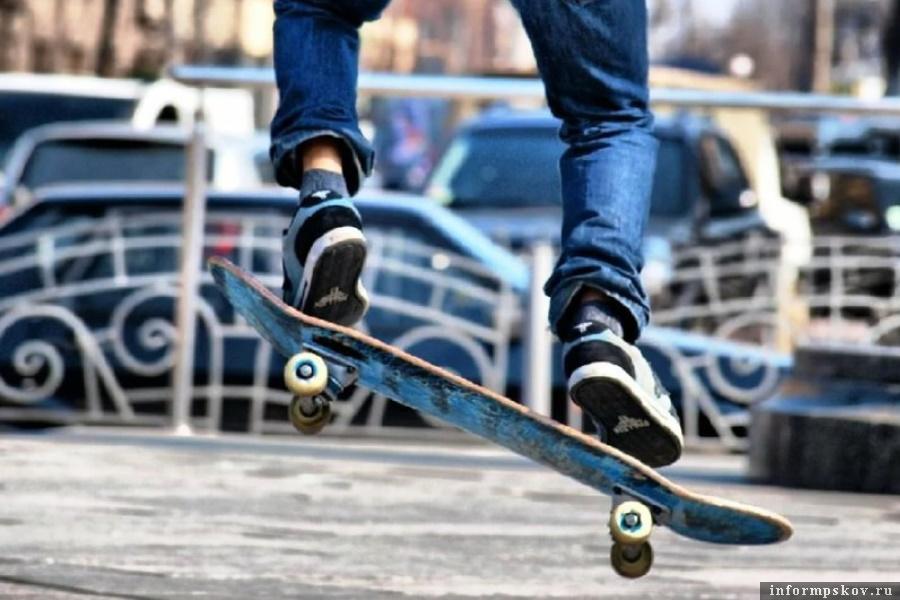 В Великих луках утверждён проект строительства скейт-парка. Фото Вконтакте