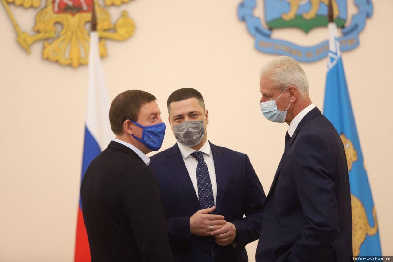 Фото Марии Овсяник / пресс-служба Псковского областного Собрания