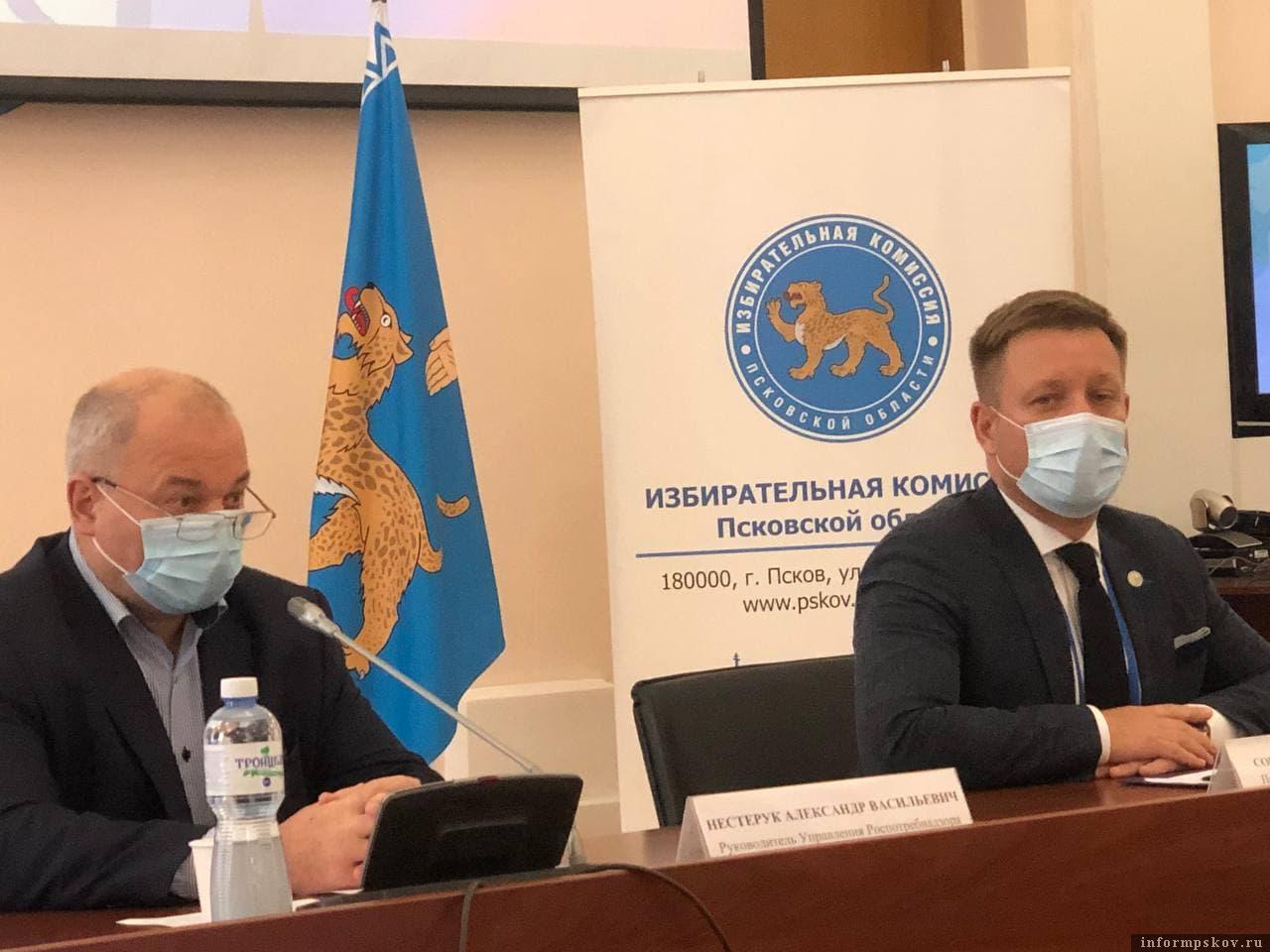 Александр Нестерук и Игорь Сопов. Фото ПАИ