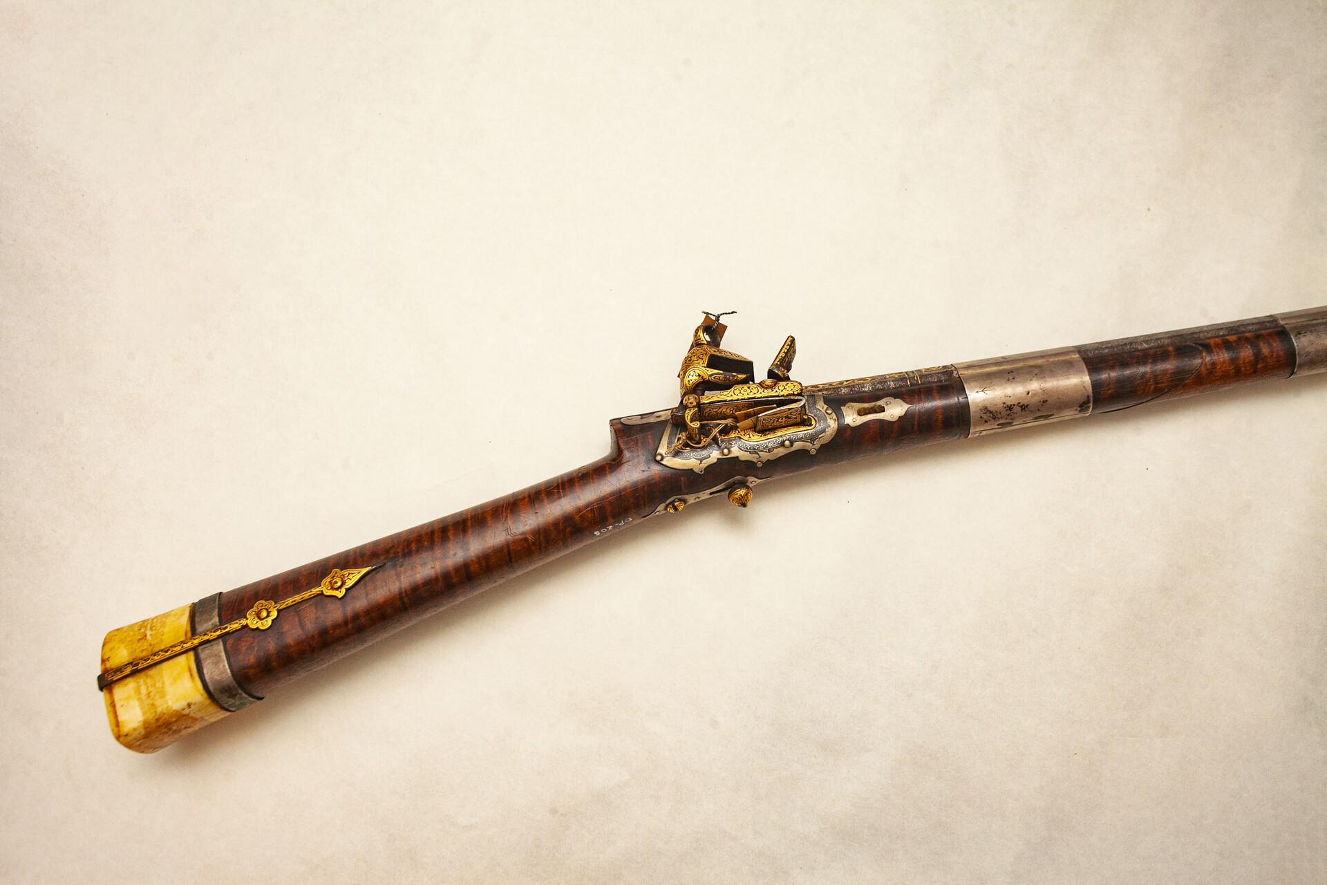 Пехотное кавказское ружье. Фото Арсения Тимашова.