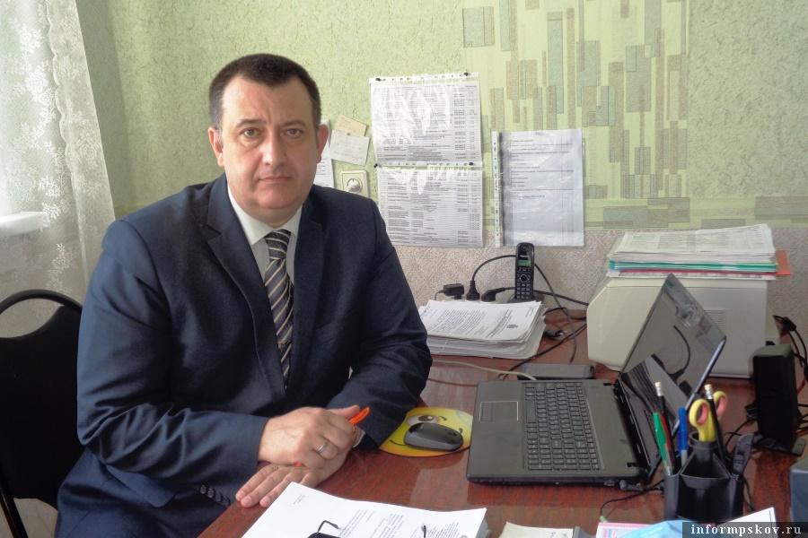 Андрей Мартынов призвал жителей Локнянского района активнее подавать заявки на догазификацию. Фото газета  «Восход»