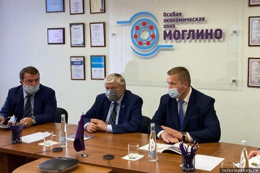 Белорусский посол был приятно удивлён большими переменами ОЭЗ. Фото Instagram