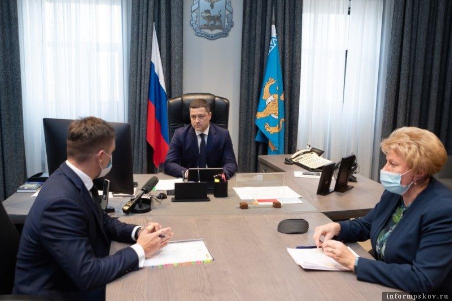 Губернатор Псковской области обсудил предстоящую кампанию по перепеси населения. Фото пресс-служба администрации Псковской области