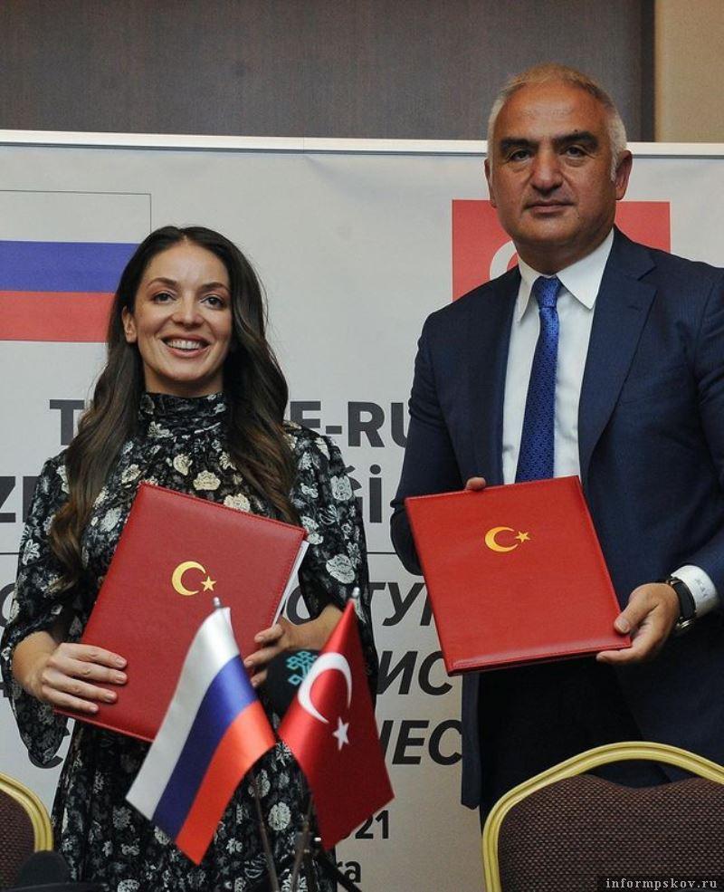Зарина Догузова и Мехмет Орсой. Фото Instagram