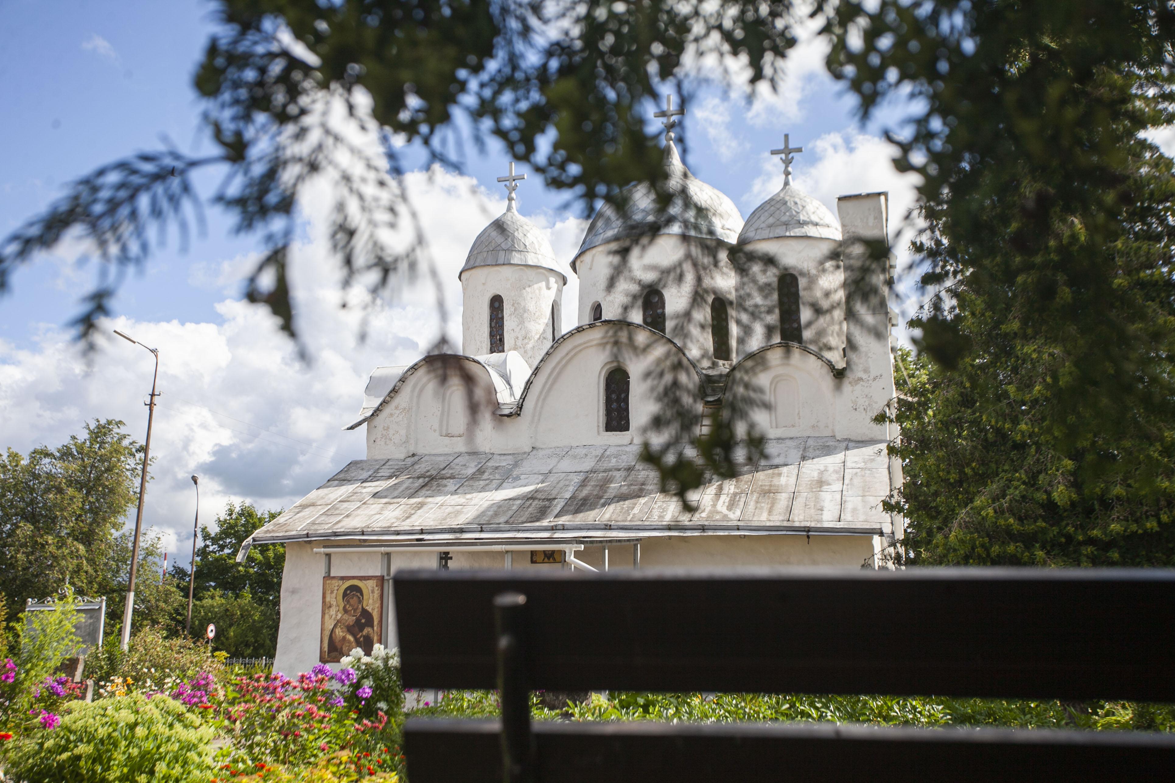 Первый каменный храм Пскова фото Арсения Тимашова
