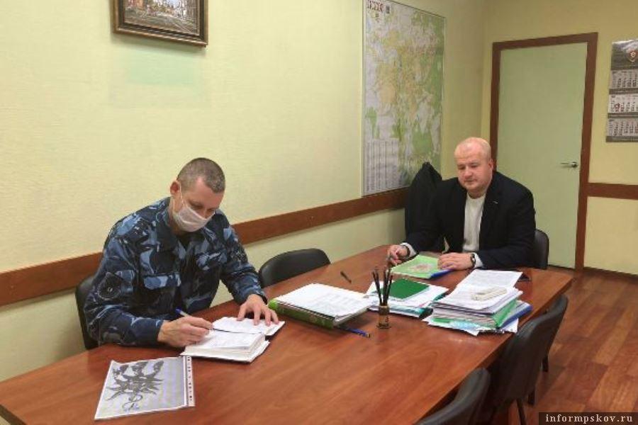 Город Псков рассмотрел возможность работ, которые выполнят заключённые. Фото пресс-служба УФСИН РФ по Псковской области