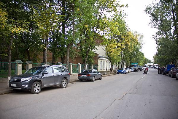 На фото: улица Пушкина