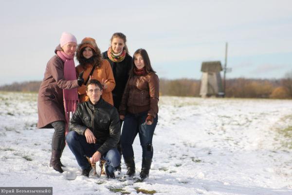 На фото: участники поездки