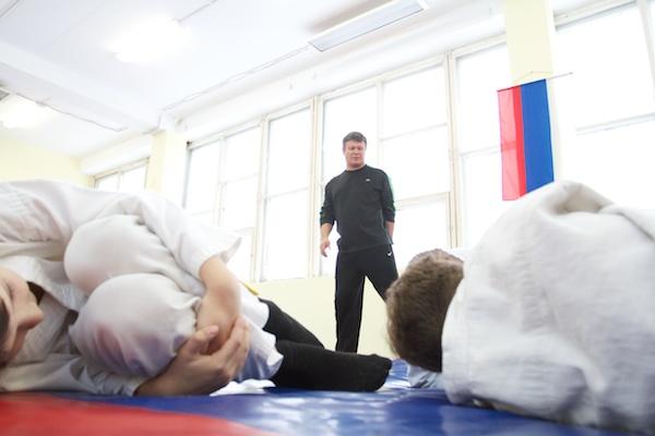 На фото: Олег Тактаров в СК