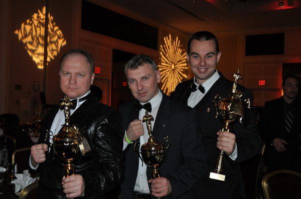 На фото: Антон Потебня с коллегами