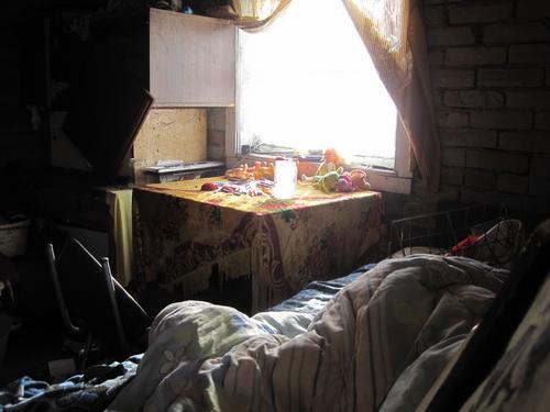 На фото: комната Юлии Кузьминой (фото Никиты Сатакова, Комсомольская правда-Псков)