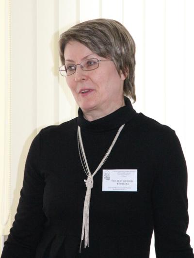 На фото: Татьяна Трошкова.