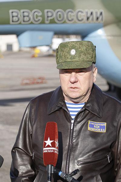 Командующий ВДВ Владимир Шаманов