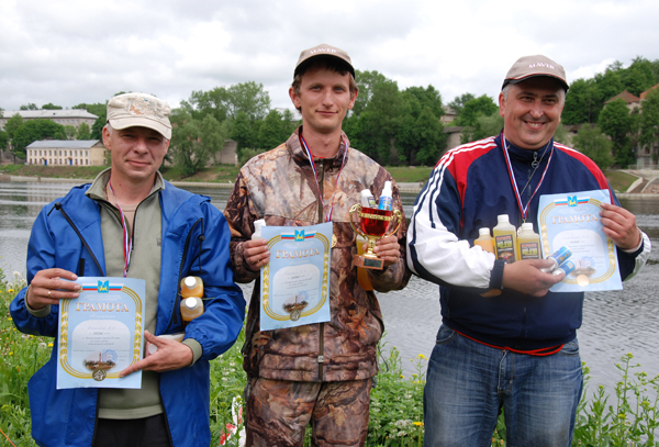 На фото: призёры соревнований