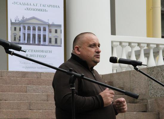 Глава Порховского района Виктор Степанов.