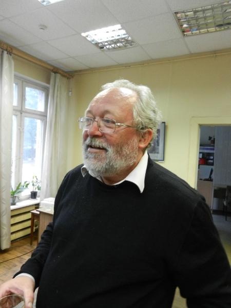 Лауреат Букеровской премии-2012 Андрей Дмитриев