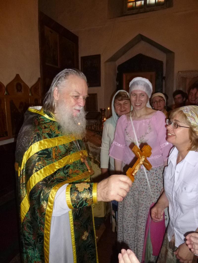 Фото из личного архива Виктора Яковлева. 1 августа 2013 года.