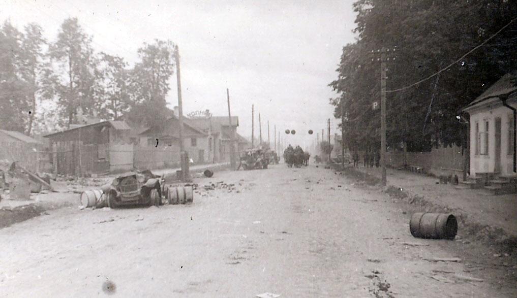 На одной из улиц Гдова.