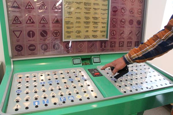Игровой автомат для подрастающего поколения эстонских водителей