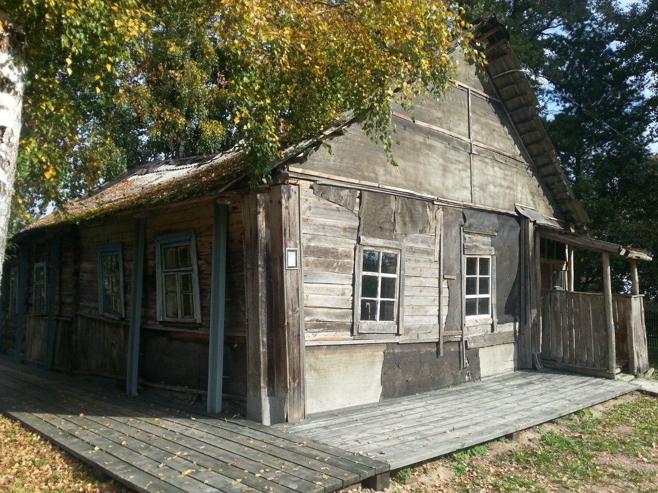 Тот самый домик в Берёзино. Фото Андрея Фёдорова