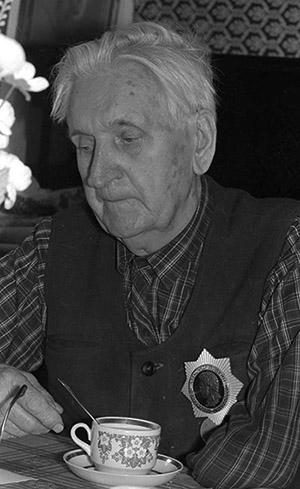 На фото: С.С. Гейченко (из фондов Пушкинского Заповедника)