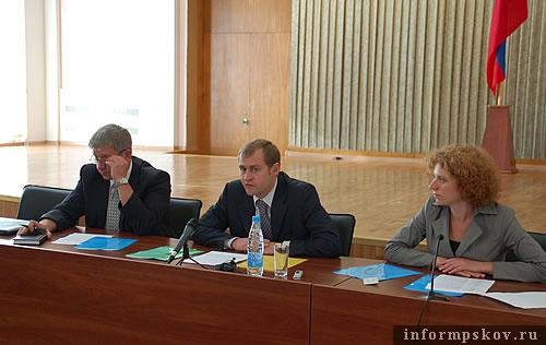 На фото: участники семинара «Разработка концепции программы развития АПК Псковской области»