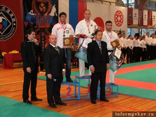 На фото: церемония награждения
