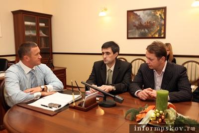 На фото: участники совещания