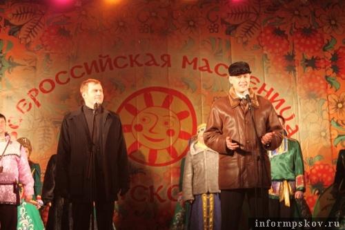 На фото: (слева напрво) Сергей Перников и Ян Лузин