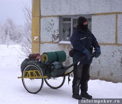 На фото: Сергей Гордиенко (фото с http://www.sosnogorsk.org/)