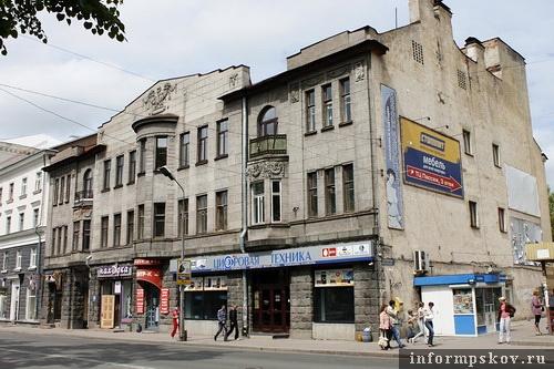 На фото: современный вид дома Сафьянщикова