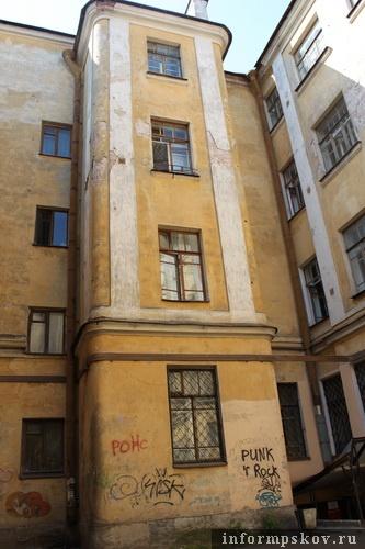 На фото: вид дома Сафьянщикова из внутреннего двора