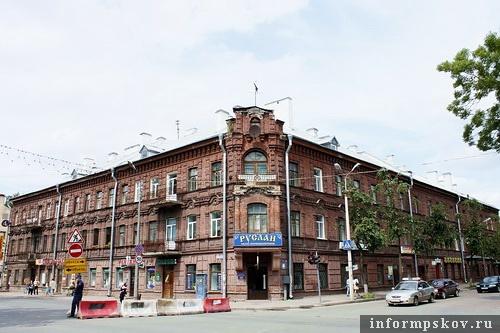 На фото: доходный дом Гельдта. Современный вид