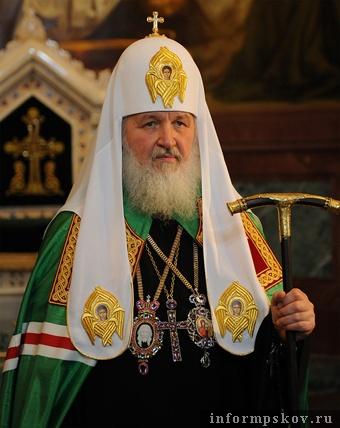 На фото: патриарх Кирилл (фото с сайта pokrovhram.narod.ru)
