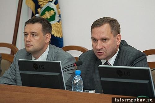 На фото: Ян Лузин и Иван Цецерский