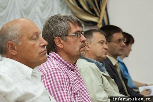 На фото: псковские предприниматели